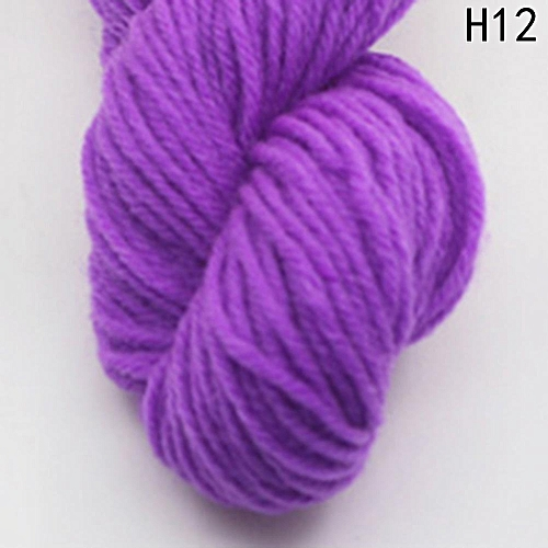 Eleganya High Quality Hook Shoes Dedicated Pure Color Knit Cotton Yarn H12