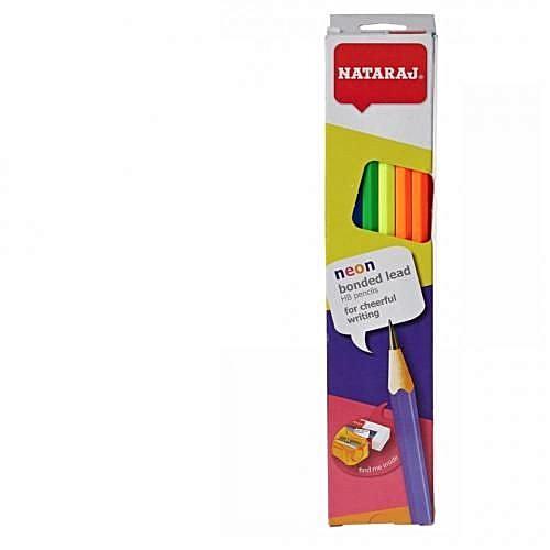 Lead HB Pencils + Eraser + Sharpener