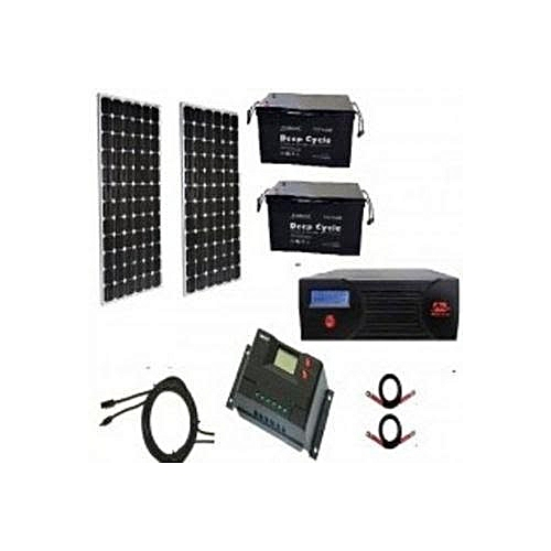 2.4kva Complete Solar Kit With 200amps Batteries