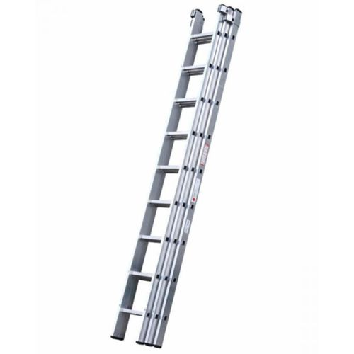 3 Section Extension Ladder : Comaat section aluminium extension ladder buy online