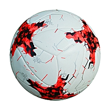 Official Size 5 PU Soccer Ball Football League Champion Sports Training Competition Ball Professional Soccer Ball For Adult(Red), used for sale  Nigeria