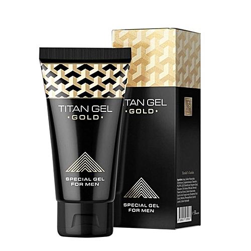Male sexual enhancement gel