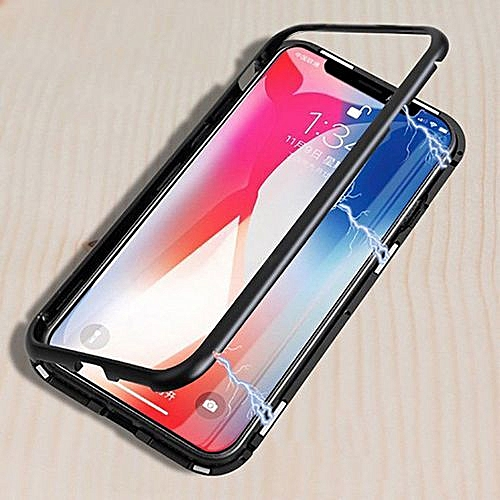 Magnetic Phone Case For IPhone X's Max Magnet Absorption Shell Back Cover