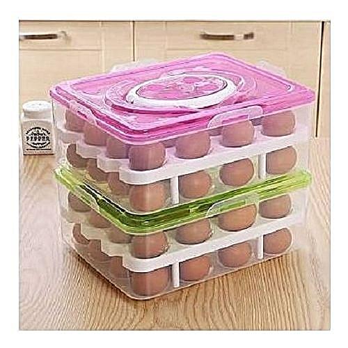 2-in One Egg Rack Box.