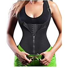 af088f962a3b7 Women  039 s Underbust Corset Waist Trainer Cincher Steel Boned Body Shaper  Vest With