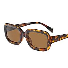 a580c8177c Small Rectangular Sunglasses Women Retro 2018 Square Sun Glasses For Women  Men Unisex-Leopard