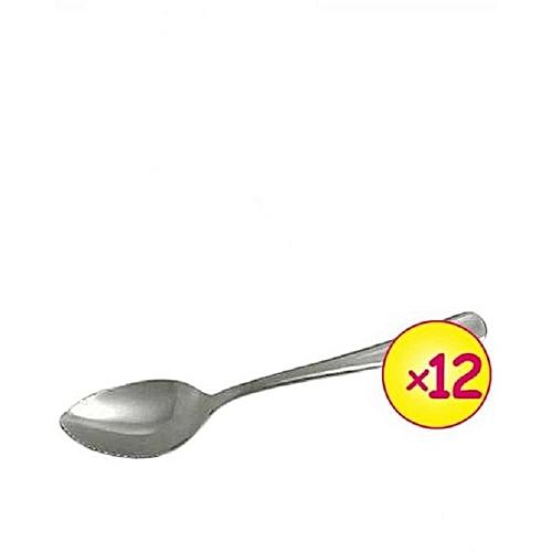 Tea Spoon Stainless Steel Set - 12pcs