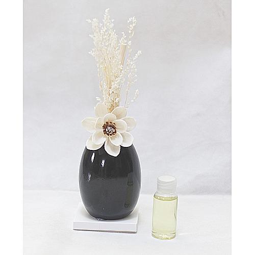 Flower Reed Diffuser - Black