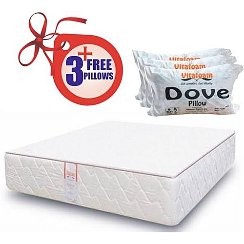 Vita Foam Mattress 6x4.5x12 - 8(delivery Within Lagos State Alone)