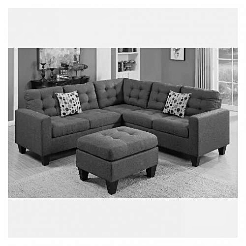 4MATIC Conner Unit Sofa. Grey. Order Now And Get OTTOMAN Free (DELIVERY ONLY IN LAGOS)