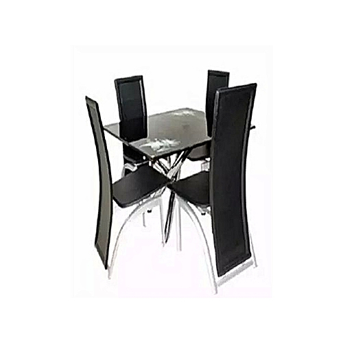 Round Dining Table + 4 Chairs(Lagos Delivery)