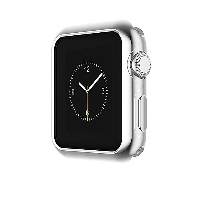 5dfdbcc9d93286 ... Dedifan Ultra-Slim Electroplate TPU Protector Case For Apple Watch  IWatch Series 3 42mm- ...