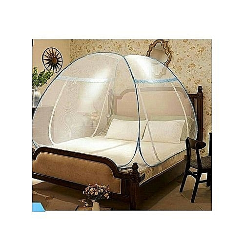 Foldable Mosquito Net Tent (Double Entry)- 5ftx6ft