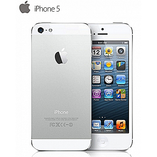 IPhone 5 4.0Inch 16GB ROM+1GB RAM (Refurbished) 8MP+1.2MP-White