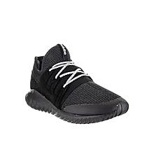 new product 75585 6c0f8 Men  039 s Originals Tubular Radial Sneakers-Core Black   Vintage White