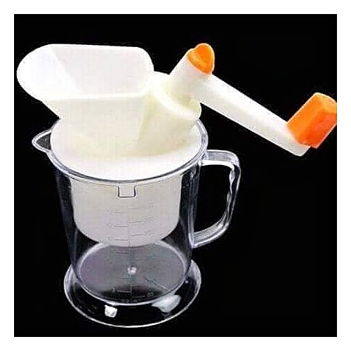 New Improved Wider-Mouth Multifunctional Manual Beans Blender, Nuts And Soya Bean Grinder/Crusher