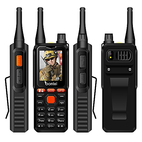 A9-Cover 10km 10000 MAh Walkie-Talkie Phone-Black