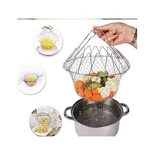 Multipurpose Chef Basket 4 Frying Cooking Steaming Scalding
