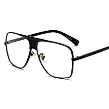 718029768a Luxury Eye Glasses Frames For Men Top Quality Gold Metal Flat Top Big Man  Glasses Optical