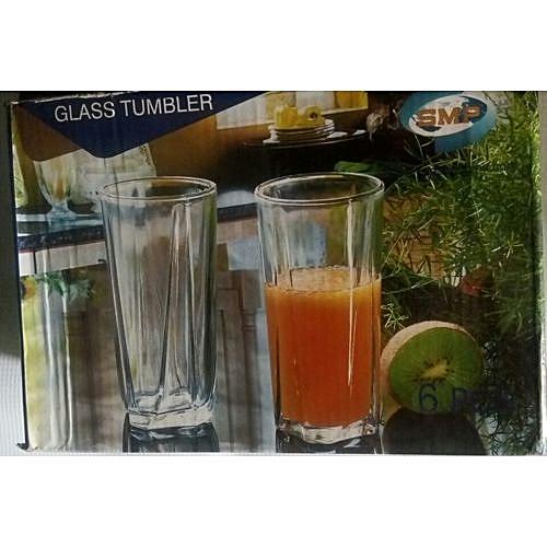 Glass Cup Set 6 Pieces