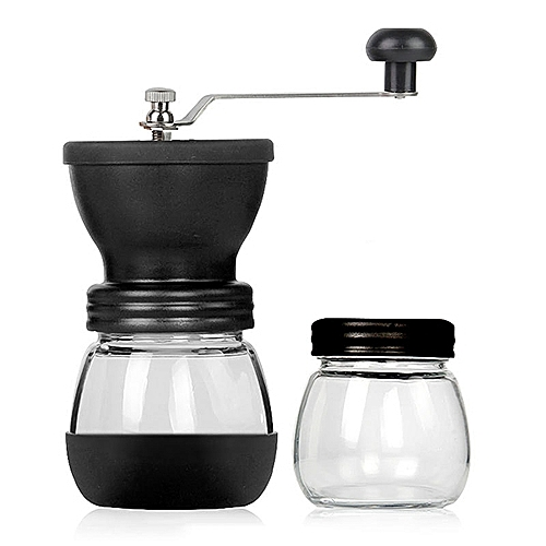 Manual Coffee Bean Grinder DIY Coffee Powder Maker Hand Cranked Coffee Mill Muller Kithchen Tools Accessories Washable