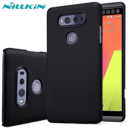 wholesale dealer 624d1 57336 Nillkin Frosted Shield Hard PC Back Cover Case For Huawei LG V20 Black.