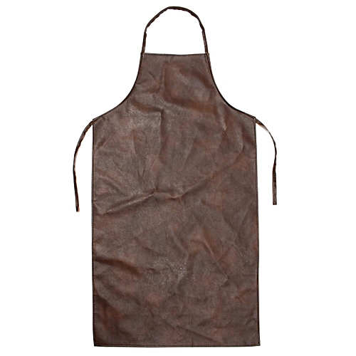 Apron Leather Equipment Apron Waterproof Washable Heat Insulation Kitchen