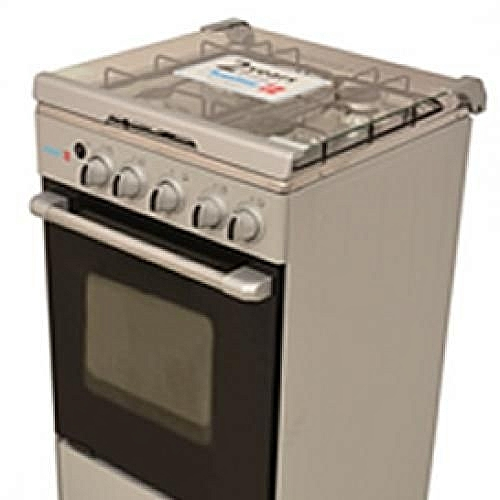 4 Gas Burner With Oven