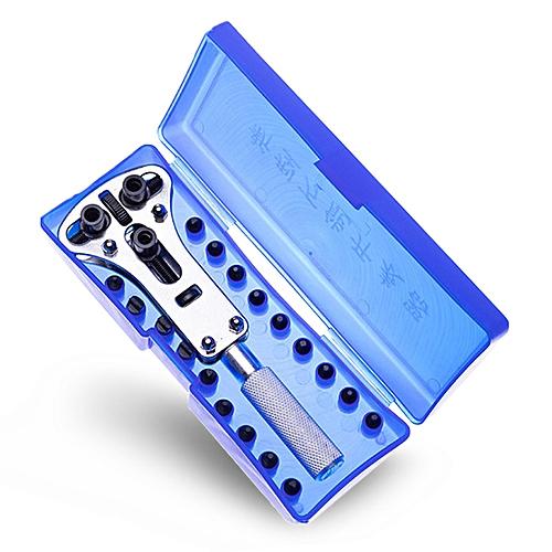 Watch Repair Tool Universal Three Claw Opener - Silver