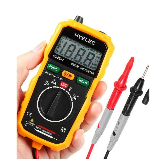 White Voltage Tester : Hyelec ms non contact mini digital multimeter dc ac