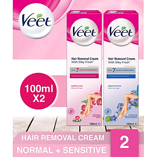 Hair Removal Cream (Normal And Sensitive Skin) - 100ml
