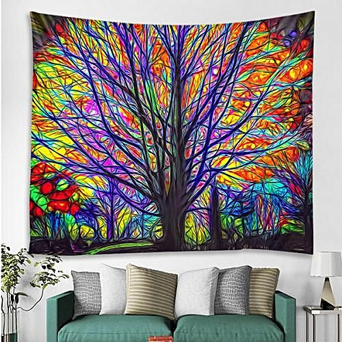 3D Digital Printing Decorative Cloth Tapestry - Multi