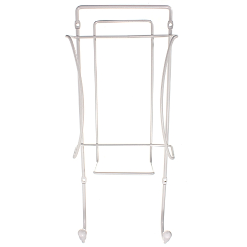 Home Iron Holder Rack Wall Mounted Bracket Store Tidy Hanger Space Saver Storage
