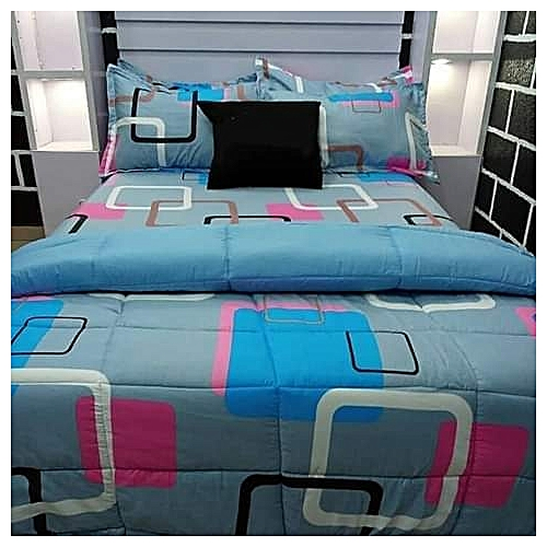 BEDSPREAD/BEDSHEET WITH 4 PILLOW CASES