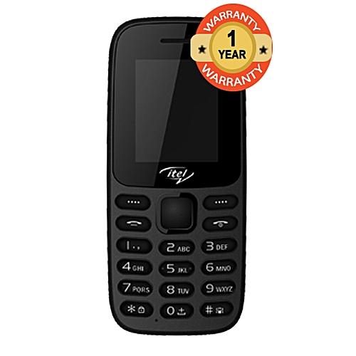 It2171 Wireless FM, Torch Dual SIM Feature Phone - Black