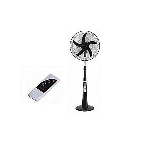 """Rechargeable Fan 16"""" With USB Port+Remote Control"""