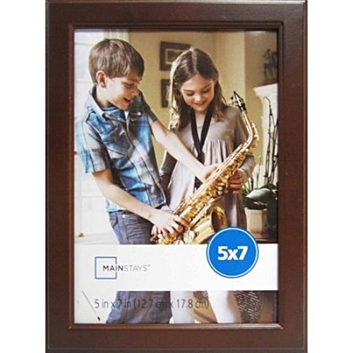 Brown 5″ X 7″ Stepped Frame, Mainstays