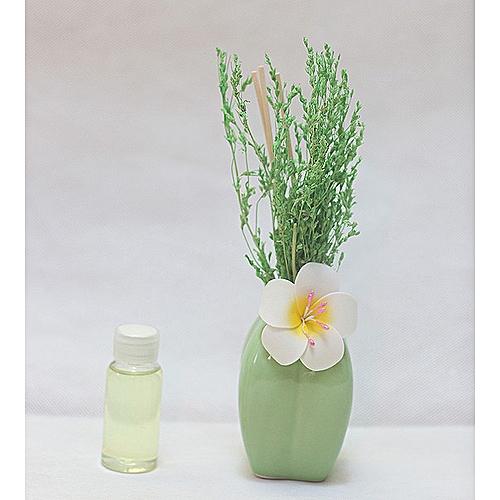 Flower Reed Diffuser - Lemon Green
