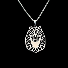 Romantic Gold Silver Color  Eurasier Pendant Necklace Hunger Games Necklace Women Best Friend, used for sale  Nigeria