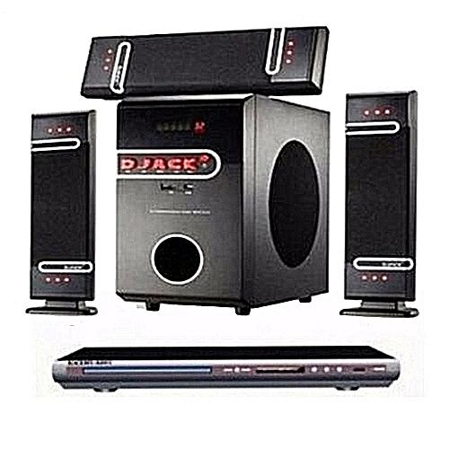 Harvey Sound Dj-D3L Djack Bluetooth Home Theater System With DVD Player