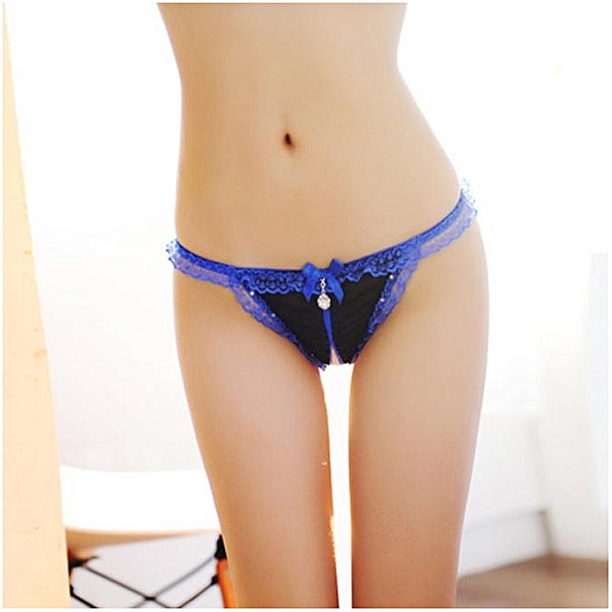 80654ee029 Cozy Hot Women Lace Crotchless G-string Underwear Thongs Panties Lingerie