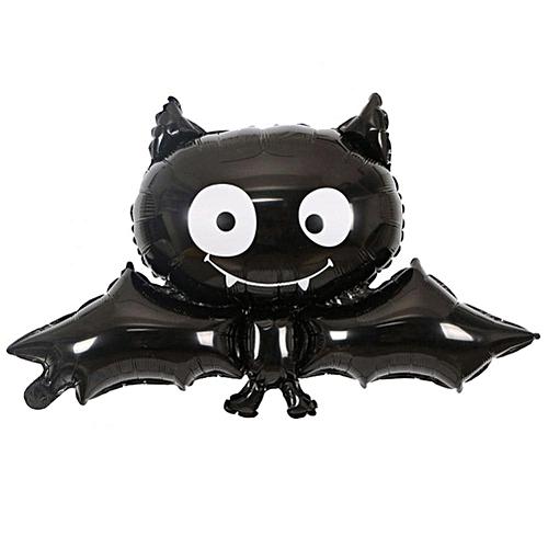 SoarUp Halloween Foil Balloon Black Bat Foil Balloon Halloween Festival House Bar KTV Party Decor Prop.