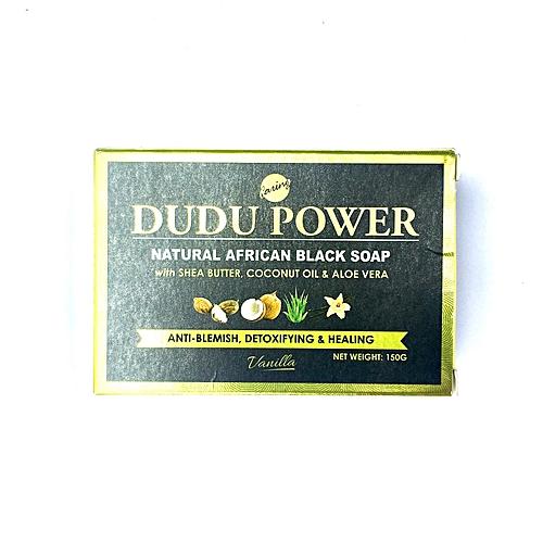 Dudu Power Black Soap - Vanilla 150G X 6