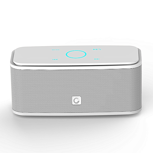 DOSS DS - 1681 Portable Touch Wireless Bluetooth Stereo Speaker Mini Player-WHITE