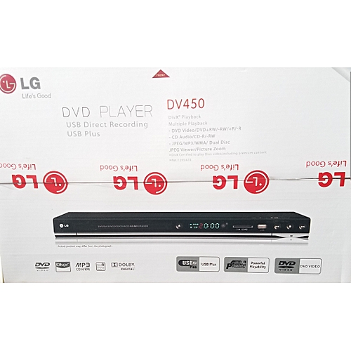 LG Dvd Player DV450 With Mp3 And Usb