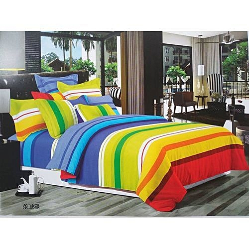 4.5x6 Duvets&bedsheets With 2 Pillowcases