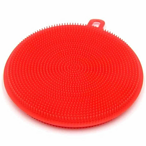Silicone DishWashing Scrubbers Pad Cleaning Mat Kitchen Washing Tools Cleaner