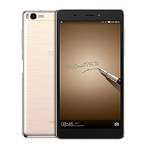 Phonepad 3 - 4G - 16GB ROM - 2GB RAM - Fingerprint Sensor - 4100mah BATTERY - CHAMPAGNE GOLD