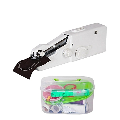 Hand Held Portable Sewing Machine With Free Sewing Kits