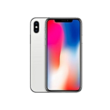 iPhone X 5.8-Inches Super AMOLED (3GB RAM, 256GB ROM) IOS 11.1.1, (12MP + 12MP) + 7MP 4G LTE Smartphone - Silver.